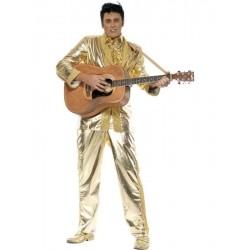 Disfraz elvis presley oro talla l hombre original