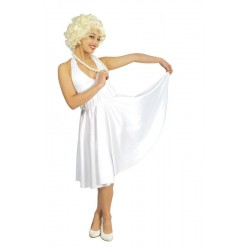 Disfraz marilyn blanco talla l