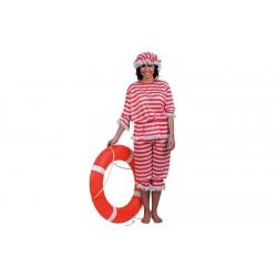 Disfraz bañista señora años 20 baños de ola adulto