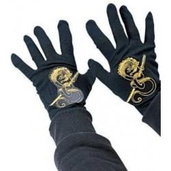 Guantes ninja negros infantiles