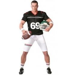 Disfraz quaterback futbol americano rugby