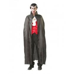 Capa negra vampiro 135 cm
