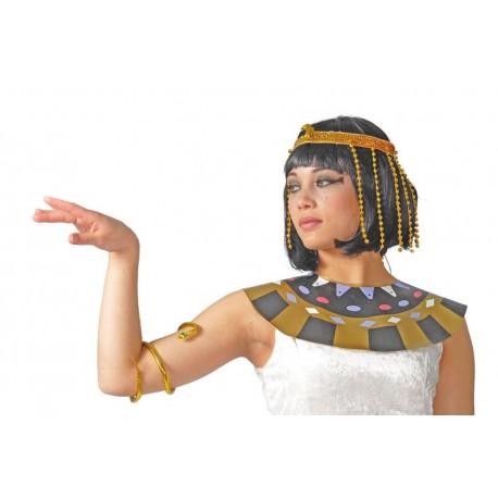 CONJUNTO CLEOPATRA EGIPCIA DIADEMA BRAZALETE 16873