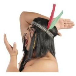 Penacho indio cinta con plumas 13238 gui