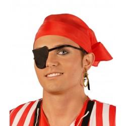 Conjunto pirata pendiente pañuelo parche 16057