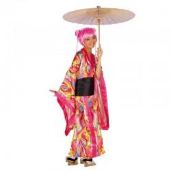 Disfraz kimono manga adulto s8301