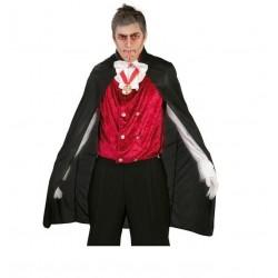 Capa vampiro terciopelo 110 cm 18333