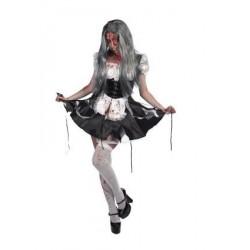 Disfraz criada zombie