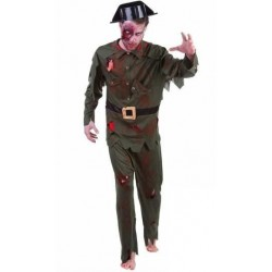 Disfraz guardia civil zombie adulto s8253