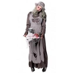 Disfraz doncella zombie 80581