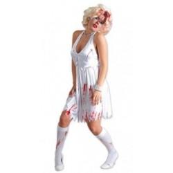 Disfraz marylin zombie sangrienta 80485