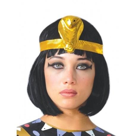 PELUCA EGIPCIA NEGRA MELENA