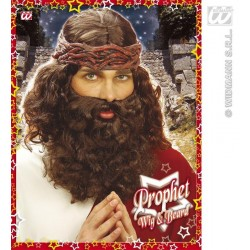 PELUCA PROFETA CON BARBA MESIAS JESUS J6262