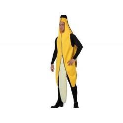Disfraz platano para adulto banana 10567