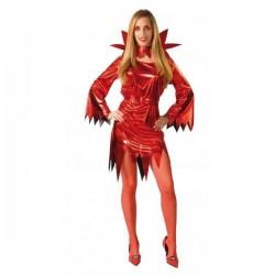 Disfraz diablesa vinilo