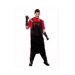 Disfraz carnicero asesino