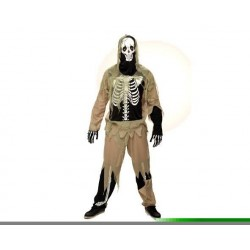 Disfraz zombie esqueleto