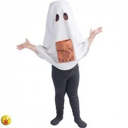 Disfraz fantasma encapuchado