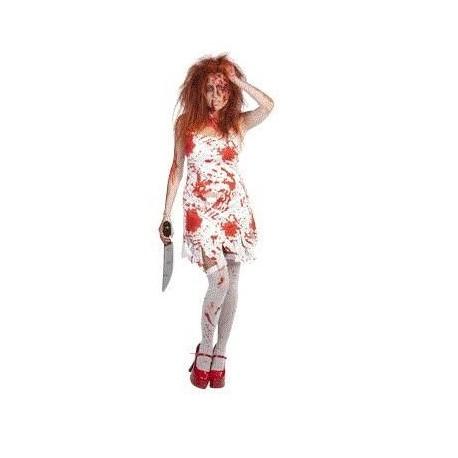 Disfraz de carrie Terrorifico y original disfraz de miedo barato de poseida Comprar disfraces para halloween Envios 24 48 h