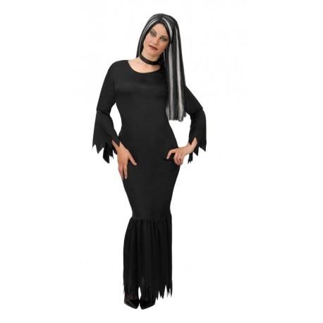 Disfraz De Morticia Adams Para Adulto Barato Tienda De Disfraces Online - Disfraces-familia-adams