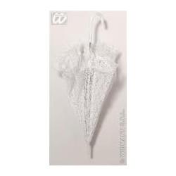 Sombrilla parasol de encaje blanco 6676p