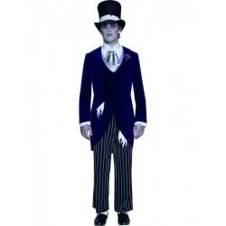 Disfraz  novio fantasma gotico t.l  lujo 33586