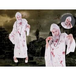 Disfraz sor zombie monja tenebrosa maldita