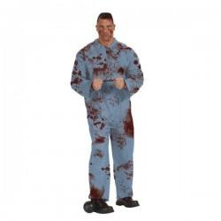 Disfraz convicto zombie adulto 887597 talla estand