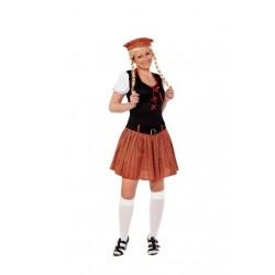 Disfraz escocesa sexy m-l adulto para mujer 706245