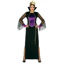Disfraz reina del espejo madrastra blanca mujer