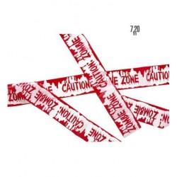 Cinta caution zombie zone 720 mt serguirdad sangr