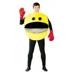 Disfraz comilon comecocos pac man amarillo 80770