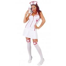 Disfraz enfermera sexy cuidados intensivos talla m
