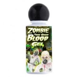 Sangre en gel verde toxica zombie radioactivo