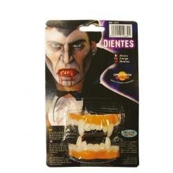 Dentadura vampiro blanda