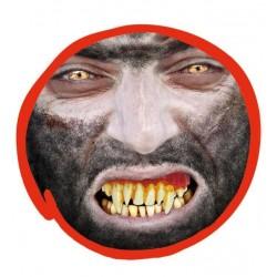Dientes monstruo  lobo o vampiro