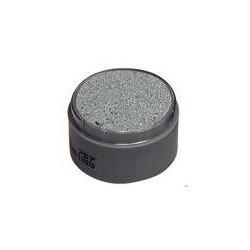 Maquillaje perla plata al agua grimas 701