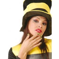 Caja 24 uñas abeja