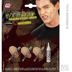 IMPERDIBLES PARA LA PIEL LATEX PIERCINGS 4162L