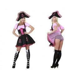 Disfraz pirata divertida
