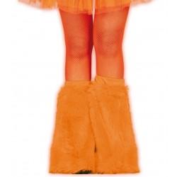 Calentadores naranjas neon para pierna 18492