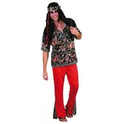 Disfraz hippie hombre adulto