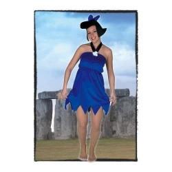 Disfraz prehistorica azul betty marmol 9158200