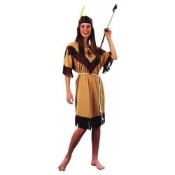 Disfraz india para mujer talla m-l adulto 701785