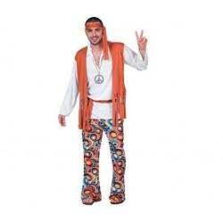 Disfraz hippie hombre años 60 m-l 701860
