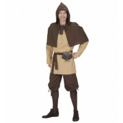 Disfraz lasquenete medieval bandido talla l adulto