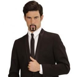 Perilla negra con bigote 26945