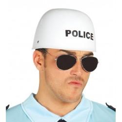 CASCO POLICIA MOTO 13115 GU PLASTICO DURO