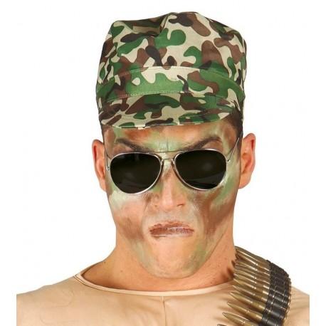Gorra militar camuflaje visera ejercito 15135. Disfraces baratos online b4ff5716927