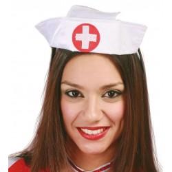 Tocado de enfermera cofia tela 13269 gu
